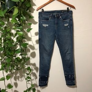 Blank NYC Crybaby Distressed Skinny Jeans 27